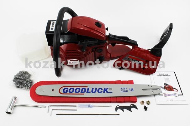 (GoodLuck)  Бензопила GoodLuck GL5200M 52cc (2,7кВт. шина 18