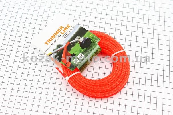 (Китай)  Леска d=3,0mm, 15м