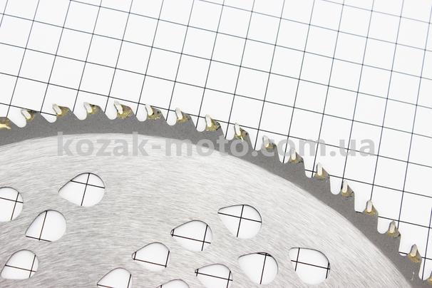 (Китай)  Нож режущий 80Тх255мм победитовые зубья