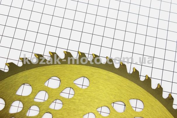(Китай)  Нож режущий 60Тх255мм победитовые зубья,