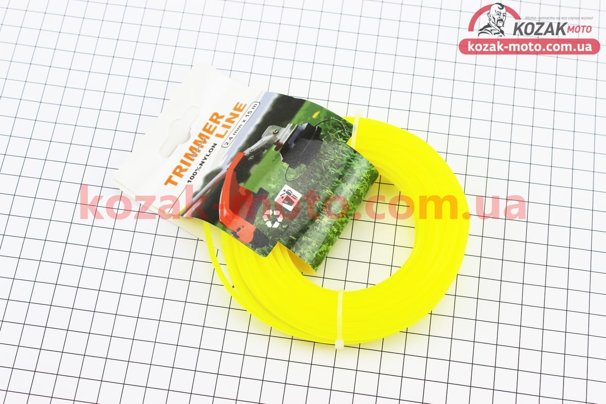 (Китай)  Леска d=2,4mm, 15м Звезда