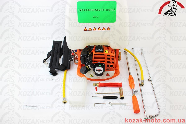 (Viper)  Мотоопрыскиватель CR-D1 (FS-768), двигатель - 1,0кВт., объем бака 25л.