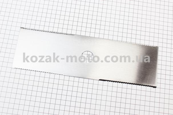 (Китай)  Нож режущий 2Тx305мм нержавейка, с зубьями Тип №4
