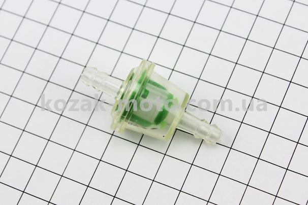 (Китай)  Фильтр топливный прозрачный (элемент сетка) цветные