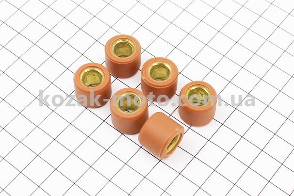 (Китай)  Ролики вариатора 6шт, Honda/GY6 16*13 - 7,0г