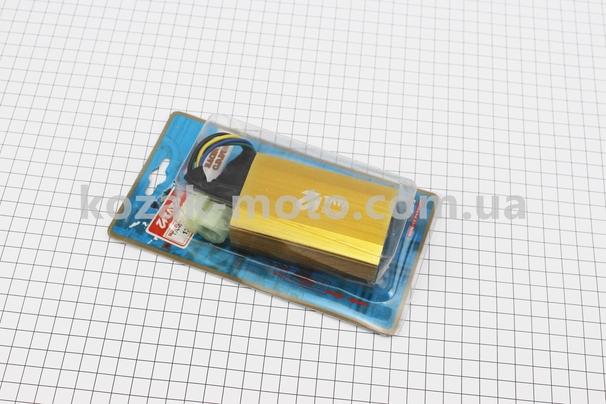(TATA)  Коммутатор CDI TUNING (+10км/ч) (золотистый)