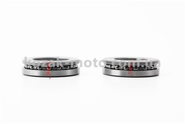 (Китай)  Подшипники руля к-кт (металлический пыльник)