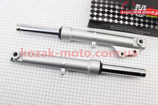 (Mototech)  Амортизатор передний (перья), к-кт 2шт (диск. тормоз) 380мм