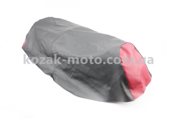 (Украина)  Чехол сиденья (эластичный, прочный материал) черный/красный