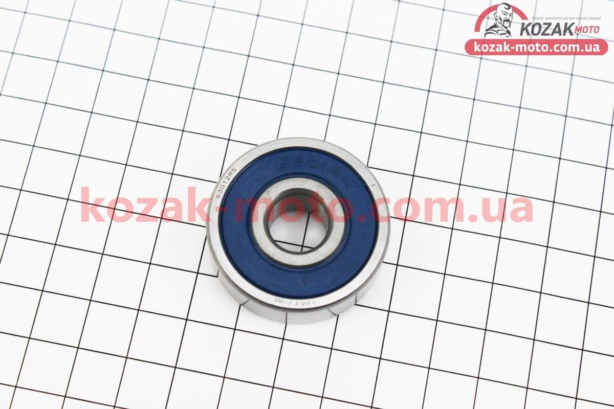 (Китай)  Подшипник колеса заднего 6301 RS (12x37x12)