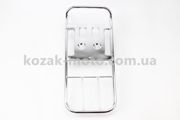 (Китай)  Багажник задний большой, хром, Тип. 2