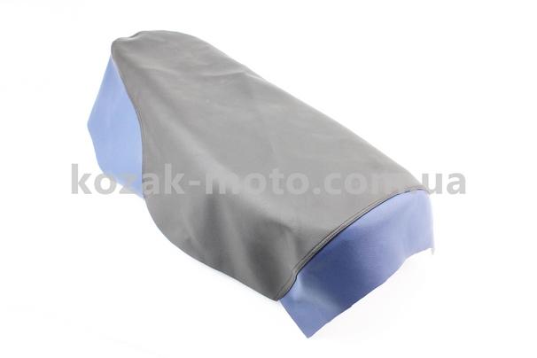(Украина)  Чехол сиденья (эластичный, прочный материал) черный/синий