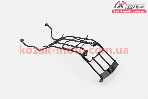 (Китай)  Багажник средний металлический, черный