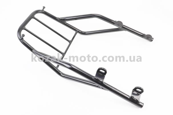 (Китай)  Багажник задній метал, ЧОРНИЙ (присутні невеликі потертості)