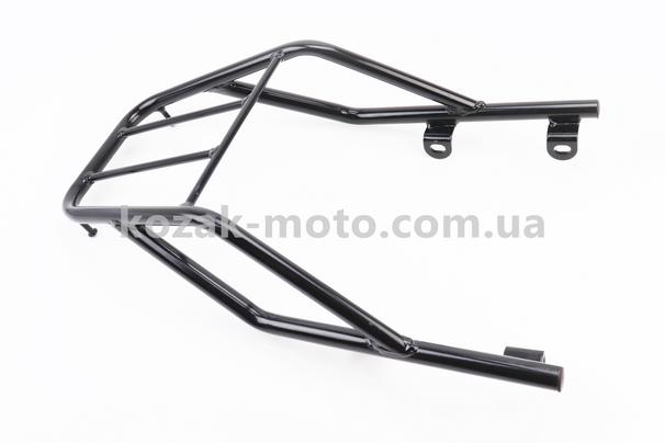 (Китай)  Багажник задний метал, ЧЕРНЫЙ (присутствуют небольшие потертости)