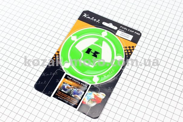 (KEITI)  Наклейка защитная на крышку бензобака Kawasaki  RKW-518G