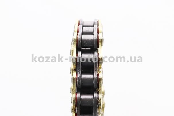 (TMMP)  Цепь привода колеса 428Н*118L VX GOLD (с сальниками)