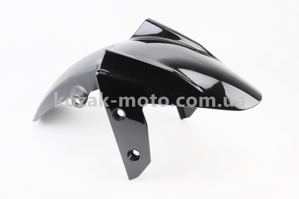 (Китай)  Loncin- LX300-6 пластик - крыло переднее, ЧЕРНЫЙ