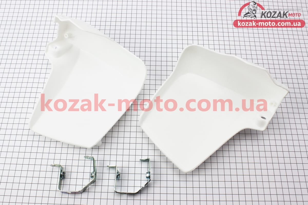 (Китай)  Yamaha GEAR Захист для рук к-кт 2шт, БІЛИЙ