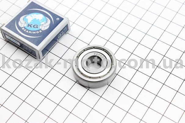 (KG)  Подшипник 6200 ZZ (10x30x9)