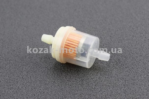 (Китай)  Фильтр топливный прозрачный с магнитом большой (элемент - бумага) тип, 2