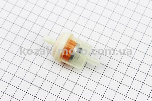 (Китай)  Фильтр топливный прозрачный с магнитом (элемент - бумага) тип 2