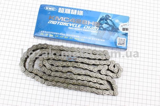 (KMC)  Цепь привода колеса 428Н*128L (оригинал)