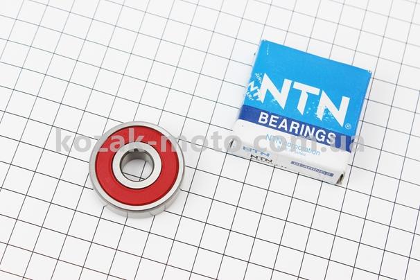 (NTN)  Подшипник колеса заднего 6301 2RS (12x37x12) Китай