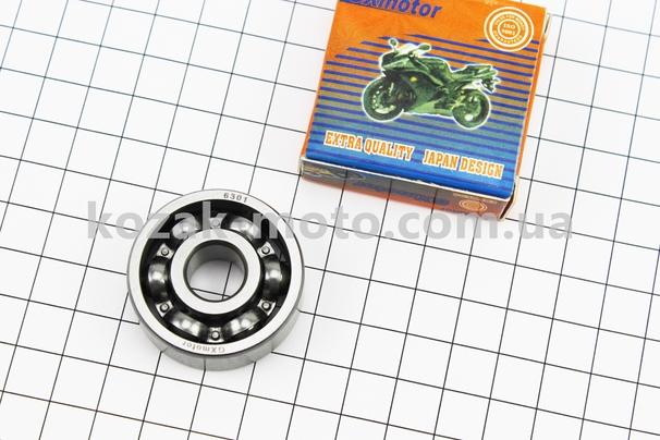 (GXmotor)  Подшипник колеса заднего 6301 (12x37x12)
