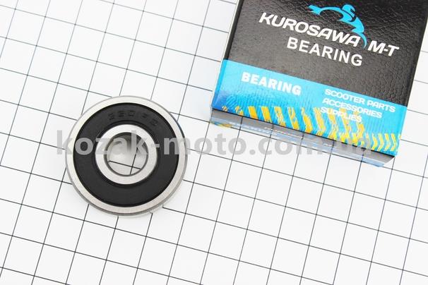 (KUROSAWA)  Подшипник колеса заднего 6301 2RS (12x37x12)