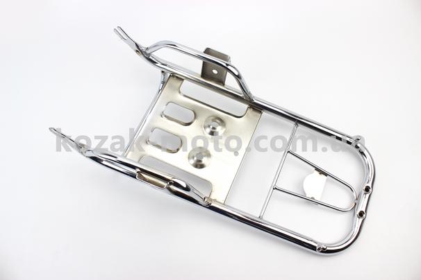 (Китай)  Багажник задний + подножки к-кт
