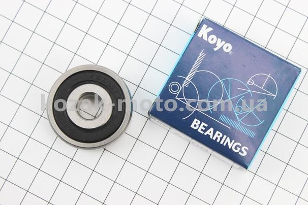(KOYO)  Подшипник колеса переднего 6300 2RS (10x35x11)