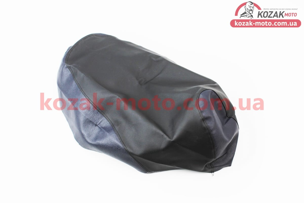 (Украина)  Чехол сидения Honda DIO AF34 (эластичный, прочный материал) черный/синий