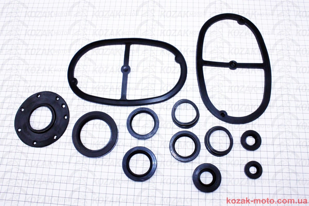 (Китай)  Ремонтный комплект резиновых деталей УРАЛ, 12шт