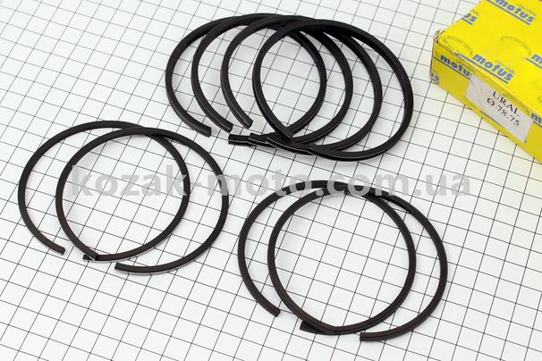(MOTUS)  Кольца поршневые к-кт 8шт К-650, МТ9, МТ10 h=2,5мм 3р. 78,75мм, ПОЛЬША
