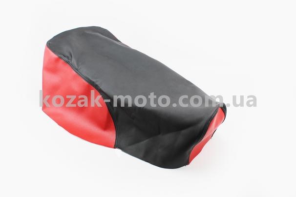 (Украина)  Чехол сиденья МТ (эластичный, прочный материал) черный/красный