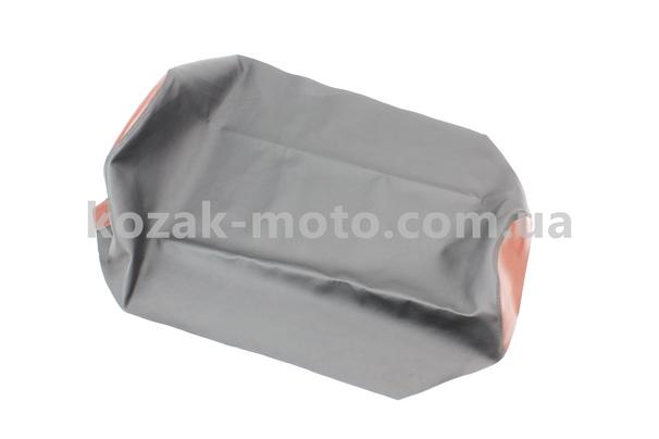 (Украина)  Чехол сиденья 12V (эластичный, прочный материал) черный/коричневый
