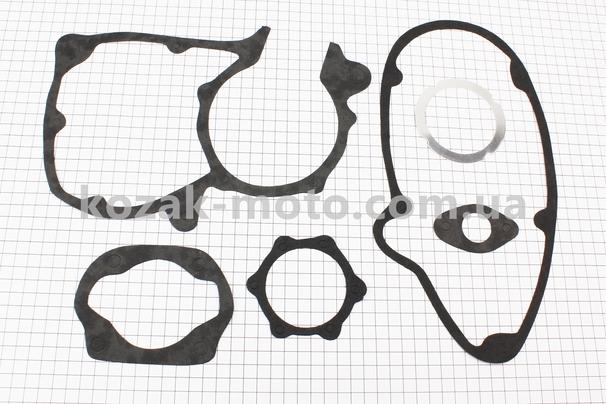 (Украина)  Прокладки двигателя, к-кт 6 деталей, (бумага, алюминий)