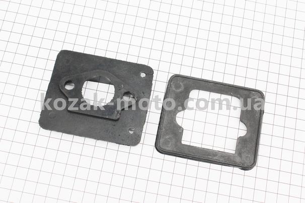(Китай)  Прокладка клапана, к-кт 2 детали, (резина)