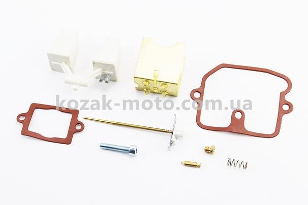 (Китай)  Ремонтный комплект карбюратора К65Г Муравей, Тулица, 8 деталей+поплавок