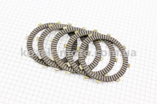 (Китай)  Диски сцепления фрикционный 5,0мм к-кт 5шт