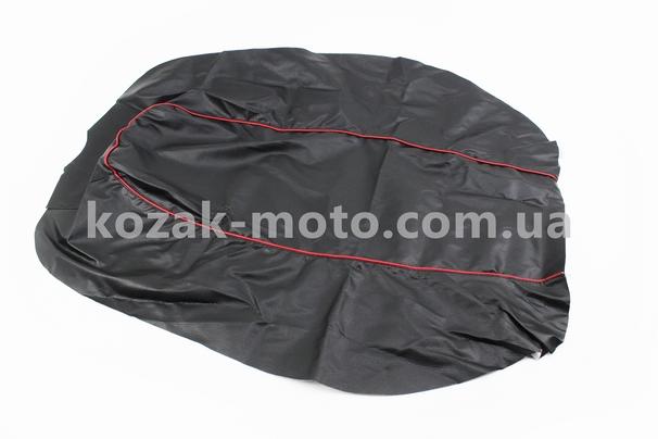 (Китай)  Чехол сиденья с красной каемкой