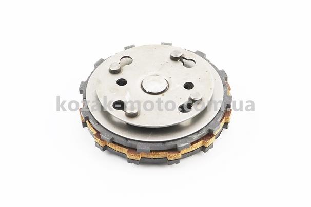 (Китай)  Диски сцепления фрикционный, к-кт (диски, столик) Карпаты Тип №1