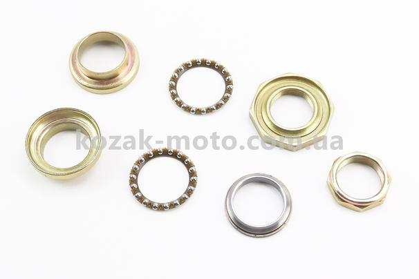 (Китай)  Подшипник руля к-кт Honda DIO (твердопластиковая обойма)
