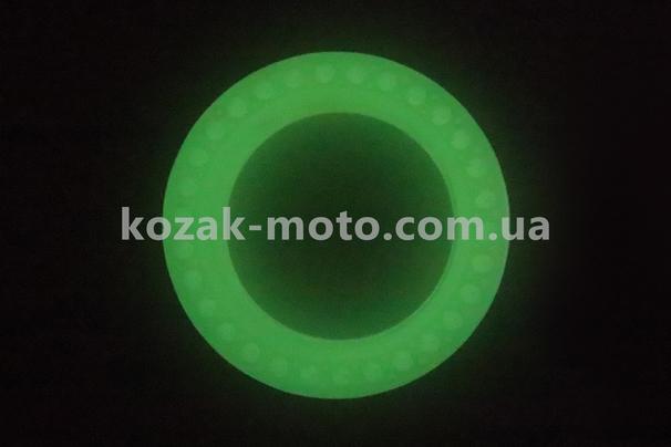 (Китай)  Шина на електросамокат з сотами для амортизації 8,5 х2, флуоресцентні, що світиться зеленим (Xiaomi Mijia M365 / 187)