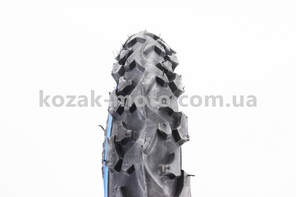 (DELI)  Шина 12 1 / 2х2 1/4 (47-203) шипована з синьою смугою SA-186