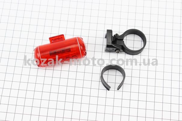 (Китай)  Фонарь задний 3 диода, JY-114 (без батареек)