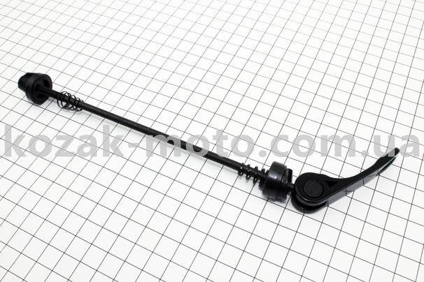 (Китай)  Эксцентрик задний МТВ алюминиевый, М5х180мм, черный
