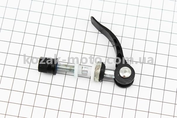 (Китай)  Зажим трубы сидения универсальный алюминиевый M8x60мм, черный тип 2