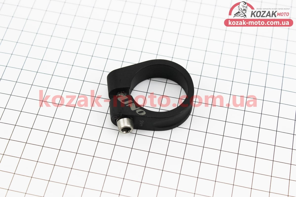 (UNO)  Зажим трубы сидения MTB 34,9мм (алюминиевой рамы), черный SC-200